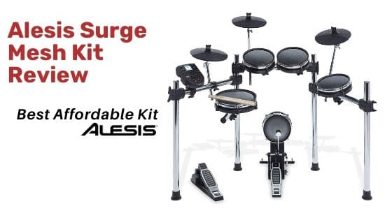 Alesis Surge Mesh Kit assamble picture