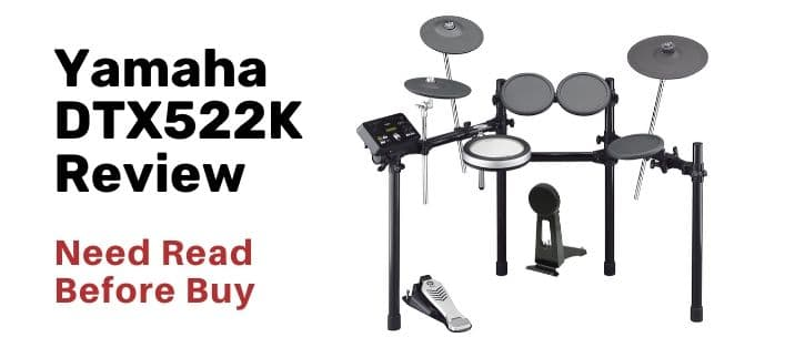 Yamaha DTX522K review all information what you need now