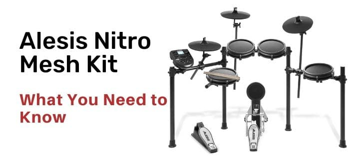 Alesis Nitro Mesh Kit the best choise drum kit