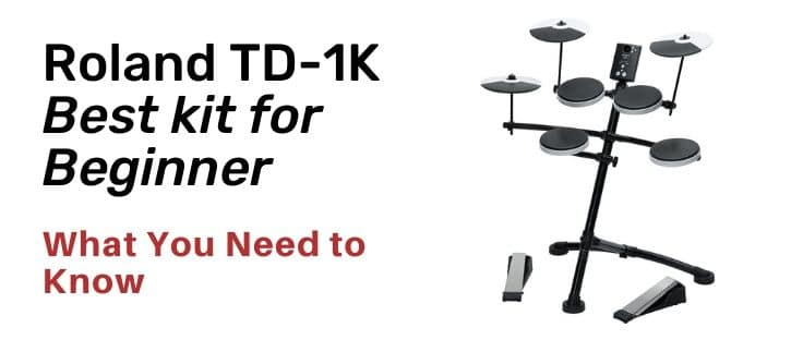 Roland TD-1K Kit Complete Review all information before you buy