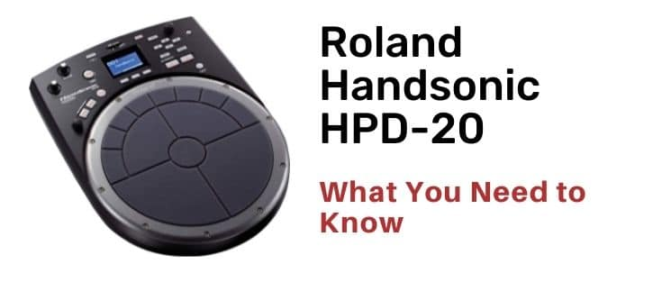 Roland Handsonic HPD-20 the review of this product