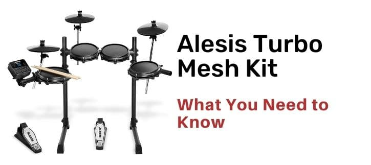 Alesis Turbo Mesh Kit Review the product