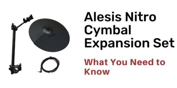 Alesis Nitro Cymbal Expansion Set Review with Alternatives