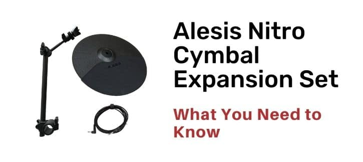 Alesis Nitro Cymbal Expansion Set with review and also with the alternatives which you know use