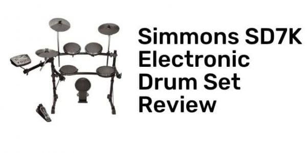 Simmons SD7K Electronic Drum Set Review