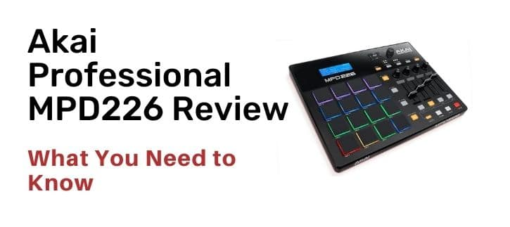Akai Professional MPD226 Midi USB Pad Drum Beat Controller Reviews