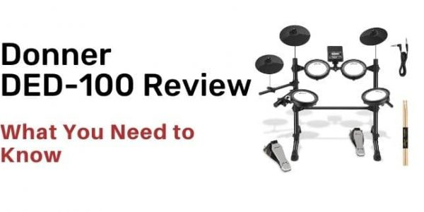 Donner DED-100 Electric Drum Kit Review
