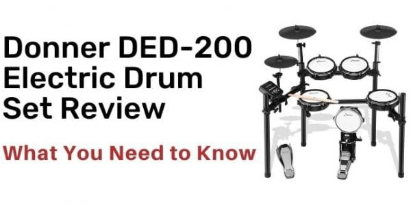 Donner DED-200 Electric Drum Set Review – Best for Beginners