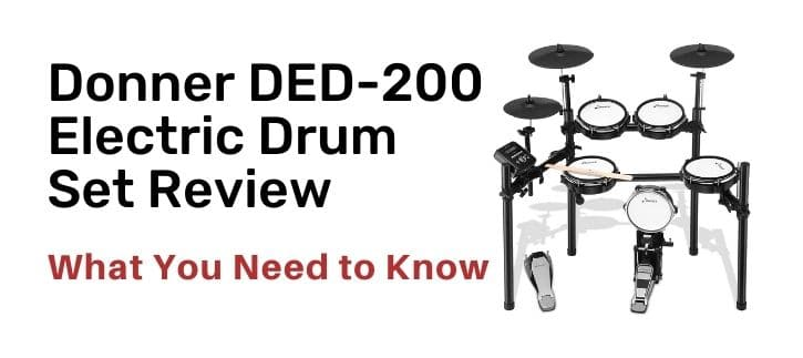 Donner DED-200 Electric Drum Set