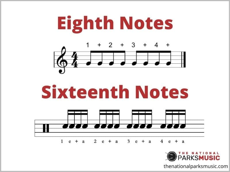 Eighth a Sixteenth Notes