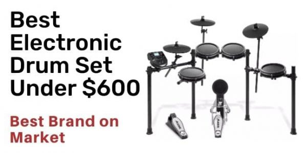 6 Best Electronic Drum Set Under 600 in 2021 with Buying Guide