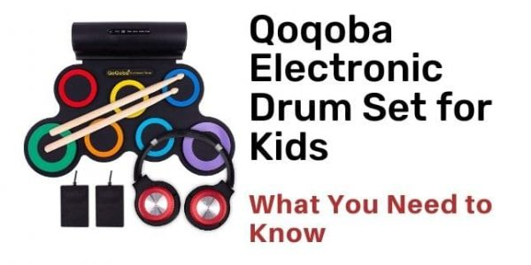 Qoqoba Electronic Drum Set for Kids Review