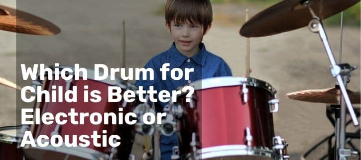Electronic or Acoustic Drum