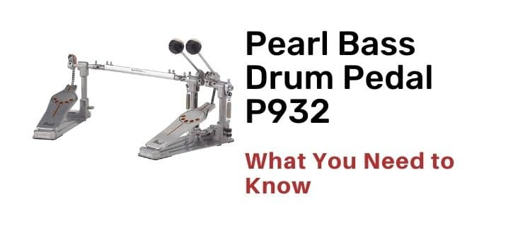 Pearl Bass Drum Pedal P932