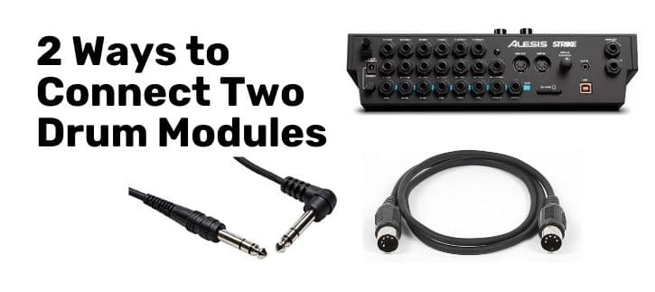 Connect Two Drum Modules